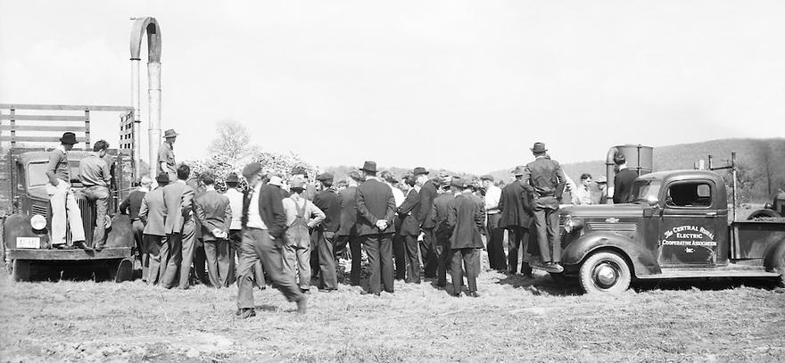 Farm Auction 1939 Pennsylvania