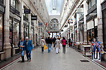 The Passage Shopping Centre, a covered shopping street in the Hague, and the oldest shopping centre in the Netherlands
