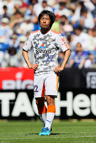 Takuma Edamura (S-Pulse), <br /> MAY 5, 2017 - Football / Soccer : <br /> 2017 J1 League match between <br /> Gamba Osaka 1-1 Shimizu S-Pulse <br /> at Suita City Football Stadium, Osaka, Japan. <br /> (Photo by AFLO SPORT)