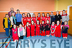 St Mary's Basketball Team at the Annual KDYS/Garda basketball blitz at Castleisland Community Centre on Friday