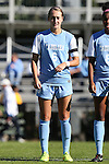 19 October 2014: North Carolina's Summer Green. The Duke University Blue Devils hosted the University of North Carolina Tar Heels at Koskinen Stadium in Durham, North Carolina in a 2014 NCAA Division I Women's Soccer match. North Carolina won the game 3-0.