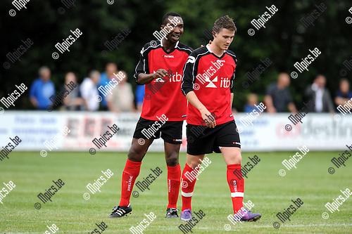 2012-07-31 / Voetbal / seizoen 2012-2013 / Mariekerke / Michael Nnaji..Foto: Mpics.be