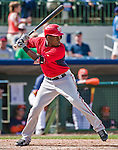 12 March 2014: Washington Nationals outfielder Eury Perez in action during a Spring Training game against the Houston Astros at Osceola County Stadium in Kissimmee, Florida. The Astros rallied in the bottom of the 9th to edge out the Nationals 10-9 in Grapefruit League play. Mandatory Credit: Ed Wolfstein Photo *** RAW (NEF) Image File Available ***