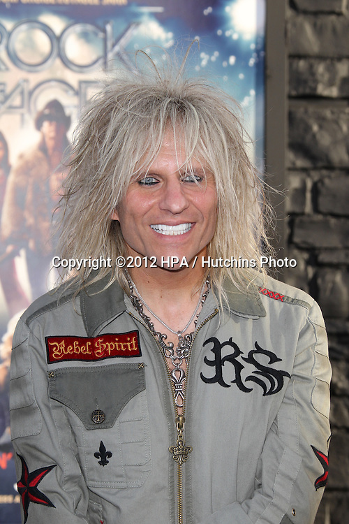 """LOS ANGELES - JUN 8:  C.C. DeVille arriving at """"Rock of Ages"""" World Premiere at Graumans Chinese Theater on June 8, 2012 in Los Angeles, CA"""