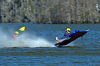 Frame 5: 1-US goes for a wild ride.   (outboard hydroplane)