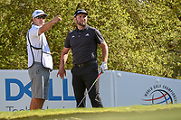 Jon Rahm (ESP) looks over his tee shot on 12 during day 1 of the WGC Dell Match Play, at the Austin Country Club, Austin, Texas, USA. 3/27/2019.<br /> Picture: Golffile | Ken Murray<br /> <br /> <br /> All photo usage must carry mandatory copyright credit (&copy; Golffile | Ken Murray)