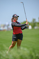 Moriya Jutanugarn (THA) watches her approach shot on 1 during round 1 of  the Volunteers of America LPGA Texas Classic, at the Old American Golf Club in The Colony, Texas, USA. 5/5/2018.<br /> Picture: Golffile | Ken Murray<br /> <br /> <br /> All photo usage must carry mandatory copyright credit (&copy; Golffile | Ken Murray)