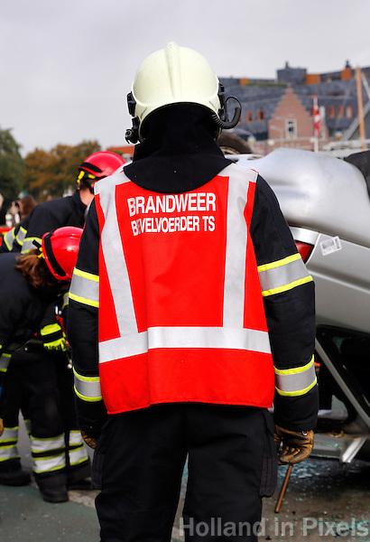 Bevelvoerder van de brandweer in Alkmaar