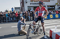Jurgen Roelandts (BEL/Lotto-Soudal) after finishing<br /> <br /> 79th Gent-Wevelgem 2017 (1.UWT)<br /> 1day race: Deinze › Wevelgem - BEL (249km)