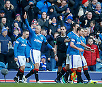 Kenny Miller celebrates his winner