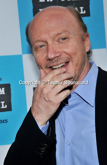 Paul Haggis  - <br /> LAFF Awards Night at the Hammer Museum In Los Angeles.<br /> <br /> headshot<br /> smile