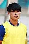 Yuto Iwasaki (JPN), <br /> AUGUST 19, 2018 - Football / Soccer : <br /> Men's Group D match <br /> between Japan 0-1 Vietnam <br /> at Wibawa Mukti Stadium <br /> during the 2018 Jakarta Palembang Asian Games <br /> in Cikarang, Indonesia. <br /> (Photo by Naoki Morita/AFLO SPORT)