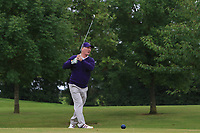 Dermot Fennelly (Mount Juliet) on the 15th tee during the Final of the Irish Mixed Foursomes Leinster Final at Millicent Golf Club, Clane, Co. Kildare. 06/08/2017<br /> Picture: Golffile | Thos Caffrey<br /> <br /> <br /> All photo usage must carry mandatory copyright credit     (&copy; Golffile | Thos Caffrey)