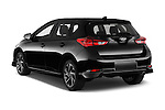 Car pictures of rear three quarter view of 2016 Scion iM 5 Door Hatchback Angular Rear