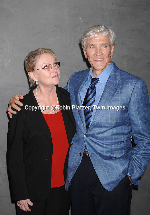 Maureen and David Canary..at The Surprise 70th Birthday Party for Susan Lucci's husband Helmet Huber on October 10, 2007 at The Rainbow Room ....Photo by Robin Platzer, Twin images....212-935-0770