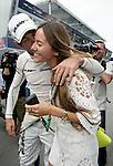 Motorsports / Formula 1: World Championship 2009, GP of Spain, 22 Jenson Button (GBR, Brawn GP), . Jessica Michibata, girlfriend