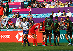 Nehuen Jauri Rivero, Day 1 at Hong Kong Stadium, HSBC World Rugby Sevens Series, Hong Kong Sevens 2019 - Photo Martin Seras Lima