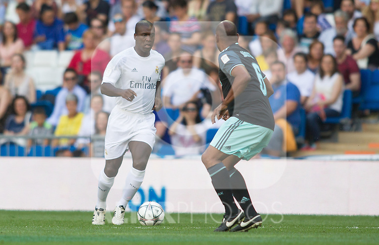 Clarence Seedorf during the Corazon Classic Match 2016 at Estadio Santiago Bernabeu between Real Madrid Legends and Ajax Legends. Jun 5,2016. (ALTERPHOTOS/Rodrigo Jimenez)