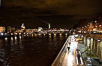 View across River Seine to the Voie Express Georges road Paris..©shoutpictures.com.john@shoutpictures.com