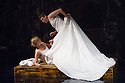 Edinburgh, UK. 30.08.2012. Scottish Opera and Music Theatre Wales present IN THE LOCKED ROOM as part of the Edinburgh International Festival. Words by David Harsent and music by Huw Watkins. Picture shows: Ruby Hughes (as Ella) and Paul Curievici (as Stephen). Photo credit: Jane Hobson.