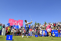 Mike Lorenzo Vera of Team France during day 2 of the GolfSixes played at The Centurion Club, St Albans, England. <br /> 06/05/2018.<br /> Picture: Golffile | Phil Inglis<br /> <br /> <br /> All photo usage must carry mandatory copyright credit (&copy; Golffile | Phil Inglis)