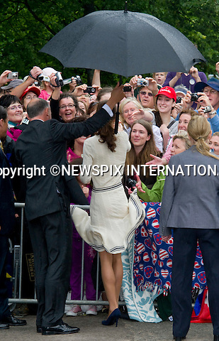 "WILLIAM & KATE CANADA TOUR.The Duke and Duchess of Cambridge visit Province House, Prince Edward Island_04/07/2011.Mandatory Credit Photo: ©NEWSPIX INTERNATIONAL..**ALL FEES PAYABLE TO: ""NEWSPIX INTERNATIONAL""**..IMMEDIATE CONFIRMATION OF USAGE REQUIRED:.Newspix, 31 Chinnery Hill, Bishop's Stortford, ENGLAND CM23 3PS.Tel:+441279 324672  ; Fax: +441279656877.Mobile:  07775681153.e-mail: info@newspixinternational.co.uk"