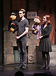 "Princeton, Ben Durocher, Kate Monster and Elizabeth Ann Berg during the 'Avenue Q"" 13th Anniversary and 3,QQQ Performance with Bar Mitzvah at the New World Stages on January 12, 2017 in New York City."