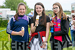 At the Kingdom County Fair in Ballybeggan on Sunday were Caoimhe Ferris, Niamh O'Sullivan, Isabelle Stevens from Milltown
