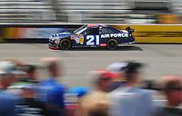 May 2, 2008; Richmond, VA, USA; NASCAR Sprint Cup Series driver Jon Wood during practice for the Dan Lowry 400 at the Richmond International Raceway. Mandatory Credit: Mark J. Rebilas-