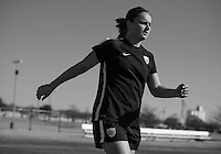 Frisco, TX - February 12, 2016: The USWNT trains in preparation for the second game of the group stage at the CONCACAF Women's Olympic Qualifying Tournament in Toyota Stadium.