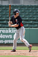 Minnesota Twins outfielder Max Murphy (17) during an Instructional League game against the Boston Red Sox on September 26, 2014 at jetBlue Park at Fenway South in Fort Myers, Florida.  (Mike Janes/Four Seam Images)
