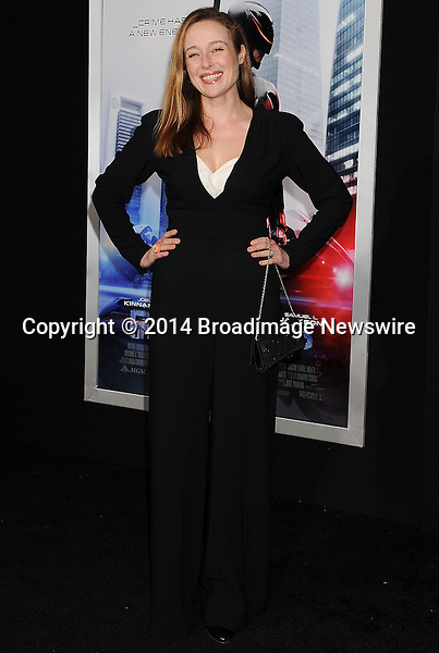 Pictured: Jennifer Ehle<br /> Mandatory Credit &copy; Joseph Gotfriedy/Broadimage<br /> Robocop - Los Angeles Premiere - Arrivals<br /> <br /> 2/10/14, Hollywood, California, United States of America<br /> <br /> Broadimage Newswire<br /> Los Angeles 1+  (310) 301-1027<br /> New York      1+  (646) 827-9134<br /> sales@broadimage.com<br /> http://www.broadimage.com