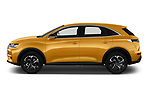 Car driver side profile view of a 2018 DS DS7 Crossback Be Chic 5 Door SUV