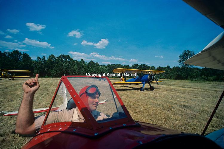 Flying Circus, Bealton, VA, Antique aircraft, Wingwalking