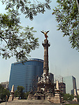 The Angel of Independence (Spanish: El Ángel de la Independencia), most commonly known by the shortened name El Ángel and officially known as Monumento a la Independencia, is a victory column on a roundabout over Paseo de la Reforma in downtown Mexico City.