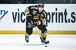 Stockholm 2014-03-21 Ishockey Kvalserien AIK - R&ouml;gle BK :  <br /> AIK:s Jordan Hendry <br /> (Foto: Kenta J&ouml;nsson) Nyckelord:  portr&auml;tt portrait