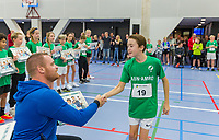 Rotterdam, Netherlands, December 16, 2017, Topsportcentrum, Ballkids selection day for ABNAMROWTT 2018,  <br /> Photo: Tennisimages/Henk Koster