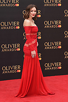Kathryn McPhee<br /> arriving for the Olivier Awards 2019 at the Royal Albert Hall, London<br /> <br /> ©Ash Knotek  D3492  07/04/2019