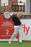 Shane Lowery (IRL) on the 11th on the 1st day of the Omega European Masters, Crans-Sur-Sierre, Crans Montana, Switzerland..Picture: Golffile/Fran Caffrey..
