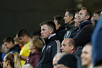 Swansea supporters during the Sky Bet Championship match between Charlton Athletic and Swansea City at The Valley, London, England, UK. Wednesday 02 October 2019