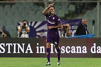 Erick Pulgar of Fiorentina celebrates after scoring a goal<br /> Firenze 24-8-2019 Stadio Artemio Franchi <br /> Football Serie A 2019/2020 <br /> ACF Fiorentina - SSC Napoli <br /> Photo Cesare Purini / Insidefoto