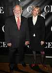 Ed Asner and Cindy Asner attending the Opening Night Performance After Party for 'Grace' at The Copacabana in New York City on 10/4/2012.