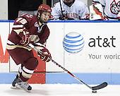 Joe Whitney (BC - 15) - The Northeastern University Huskies defeated the Boston College Eagles 3-2 on Friday, February 19, 2010, at Matthews Arena in Boston, Massachusetts.