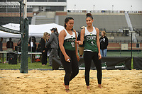 Stevenson women's beach volleyball sweeps both Carson-Newman and Morgan State 5-0 on Saturday at the first home meet of the season.