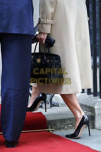 LONDON, ENGLAND - JUNE 04: Donald Trump, Melania Trump outside in 10 Downing Street, during the second day of Trump State Visit on June 4, 2019 in London, England. <br /> CAP/GOL<br /> ©GOL/Capital Pictures