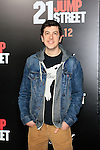 LOS ANGELES, CA - MAR 13: Christopher Mintz-Plasse at the premiere of Columbia Pictures '21 Jump Street' held at Grauman's Chinese Theater on March 13, 2012 in Los Angeles, California