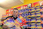 24/9/15 Bray Co Wicklow.<br /> Craig Duggan at the open of the new Dealz store in Bray Co Wicklow.<br /> Picture Fran Caffrey /Newsfile/Professional Images