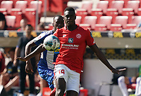 Moussa Niakhate (1. FSV Mainz 05) - 14.09.2019: 1. FSV Mainz 05 vs. Hertha BSC Berlin, 4. Spieltag Bundesliga, OPEL Arena<br /> DISCLAIMER: DFL regulations prohibit any use of photographs as image sequences and/or quasi-video.