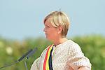 Ceremony of the bicentenary of the Battle of Waterloo. Waterloo, 18 june 2015, Belgium<br /> Pics: Mayor of Waterloo Florence Reuters