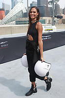 NEW YORK, NY - SEPTEMBER 12: Joan Smalls at Kia Race the Runway at  Pier 92/94 on September 12, 2017 in New York City. <br /> CAP/MPI99<br /> &copy;MPI99/Capital Pictures